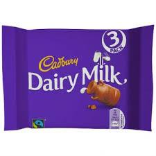 Cadbury Dairy Milk Bar 3 Pack