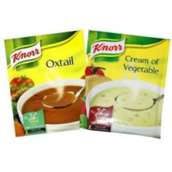 Knorr Oxtail & Cream of Vegetable Soup